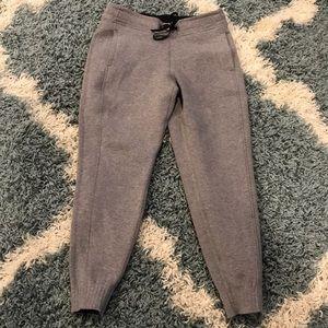 Grey lululemon sweat pant, size 6, worn once